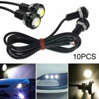 10PCS Motor Car Auto 9W 12V Eagle Eye Light LED DRL Daytime Running Backup Lamps