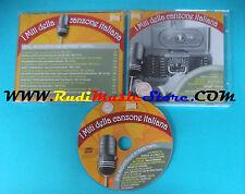CD MITI CANZONE ITALIANA MOTIVETTO PIACE TANTO compilation 2009 PROMO (C12)