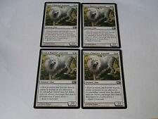 Carte magic Lion à fourrure argentée Magic 2011 x 4 !!!