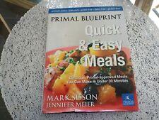 Cookbook Primal Blueprint Quick & Easy Meals Paleo LowCarb Grain Gluten Free