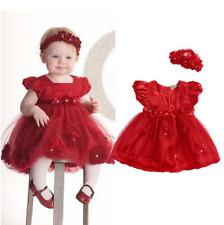 Babykleid Set Weihnachtskleid 62-68 Festkleid Geburtstagskleid Blumenmädchen