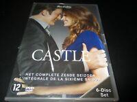 """COFFRET 6 DVD NEUF """"CASTLE - SAISON 6"""""""