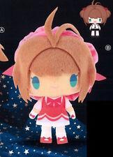 Card Captor Sakura 10'' Sakura w/ Pink Dress DX Plush NEW