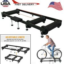 Pro Bicycle Cycling Parabolic Roller Trainer Indoor Bike Exercise Stand FastShip