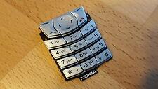 NEUE Tastatur / Farbe silber  / passend für Nokia 6610 / 6610i