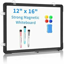 Small Dry Erase Board White 12ampquot X 16ampquot Hanging Magnetic Whiteboard Wall