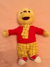 Talking Rupert The Bear Soft Toy. Immaculate.