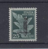 RSI 1944 IMPERIALE SAGGI 25 CENTESIMI N.P9 VERONA G.I MNH** SOCIALE RAY