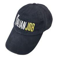 The Italian Job Mens Adjustable Strapback Hat Movie Cap