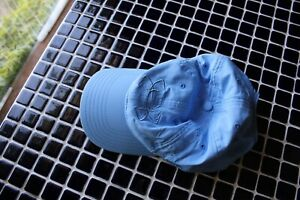 Iso-Chill Under Armour Hat Baby Blue Perfect LN No Wear Women's Adjustable Nice