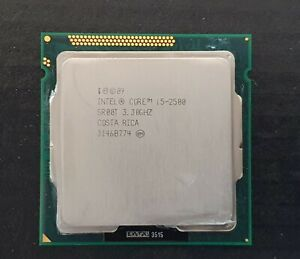 Intel Core i5-2500 - 3.3 GHz LGA1155 CPU with Heatsink & Thermal Compound