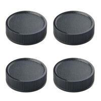 4×Rear Lens Cap Cover Screw Mount for Leica M39 LTM LSM MCM39 39mm replacement