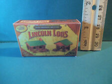 Barbie 1:6 Furniture Game Miniature Lincoln Logs Box for Tommy or Kelly bb