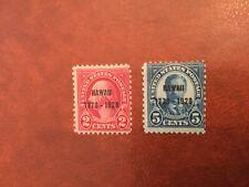 Stamps, Usa, Sc#647-648, Mlh
