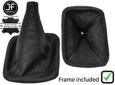 BLACK STITCH FOR TOYOTA HILUX 06-16 4WD TRANSFER LEATHER BOOT + PLASTIC FRAME