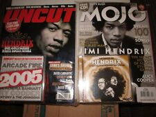 """Jimi Hendrix 7"""" picture disc, magazines, T-shirt, buttons & cards"""