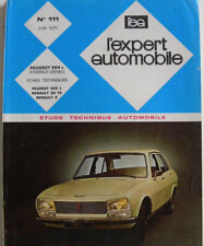 revue technique automobile RTA PEUGEOT 504 L essence et diesel n° 111