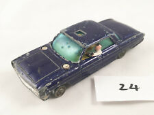 CORGI TOYS # 497 OLDSMOBILE 88 MAN FROM UNCLE ORIGINAL DIECAST CAR PLAY WORN