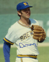 1970's BREWERS Don Money signed 8x10 photo AUTO Autographed Milwaukee