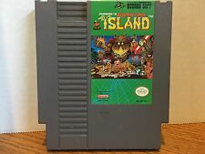 Adventure Island Nintendo NES Game Cleaned Tested Working