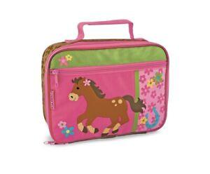 Stephen Joseph Girl's Pink Horse Classic Lunch Box New