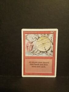 Magic the Gathering Wheel of Fortune Revised Edition MTG