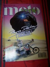 4W Magazine Moto verte 166 HONDA XR 600 BETA TR 34 YAMAHA XT TDR 125 DTR DAKAR