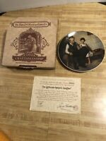 "Norman Rockwell Collector Plates ""The Lighthouse Keepers Daughter"""