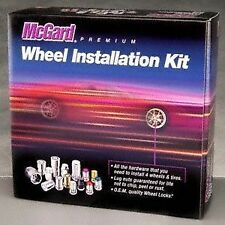 Wheel Install Kit: 20 lug set; Including Locks; 12mm X 1.5 thread size; cone
