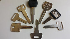 Yamaha-Motorcycle-ATV-New-Replacement-Keys-Cut-by-Code-Number-Guaranteed  work