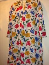 Ladies polyester wrap robe 12/14 bnwt