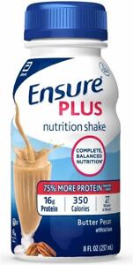 Ensure Plus Nutrition Shake With 16g of High-quality Protein, Meal Replacement S