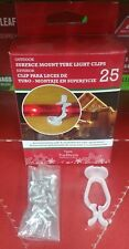 Outdoor Surface Mount Tube Light Clips Package of 25 #31133   FREE SHIPPING!!!
