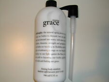 Philosophy AMAZING GRACE Firming Body Emulsion Lotion 32 oz w/PUMP