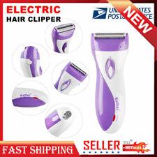 Women Electric Shaver Hair Groomer Rechargeable Clipper Razor Bikini Shaving Set