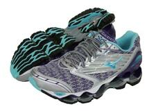 New Women's Mizuno Wave Prophecy 5 Running Shoes Size 8 Silver/Purple LAST PAIR