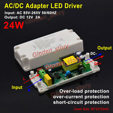AC-DC Converter AC 110V 220V 230V to 12V 2A 24W LED Driver Adapter Transformer
