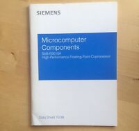 Siemens SAB R3010A Databook Datasheet FPU CPU
