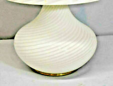 Vetri Venetian Murano Glass Lamp Base # 048 All Original Without Shade
