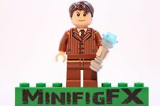 Lego DR WHO 10th Doctor Custom Minifig David Tennant w Sonic Screwdriver