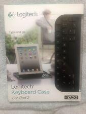Logitech Zagg 920-003402 Wireless Keyboard/Case iPad 2