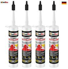 Bitumenkleber 4 x 310 ml Dichtstoff Dachdicht Bitumen Dichtmasse Schindelkleber