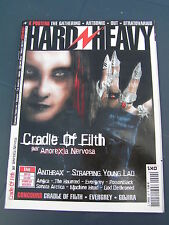 Hard n' heavy 2003 90 CRADLE OF FILTH ANTHRAX STRAPPING YOUNG LAD ANGRA