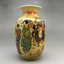 China's rich and colorful ceramics hand-painted kimono woman - the vase  DU333