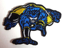 "X-MEN BEAST  Die Cut Figure  3.5"" Embroidered Patch-Mailed from USA (XMPA-14)"
