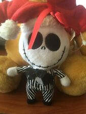 "THE NIGHTMARE BEFORE CHRISTMAS JACK SKELLINGTON PLUSH DOLL ORNAMENT 6"" NWT"