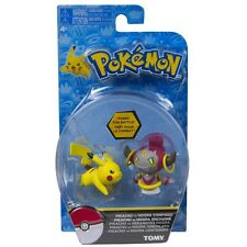 Tomy Battle Pose Pikachu vs Hoopa Confined Pokemon Mini Figure