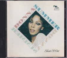 """Donna Summer - """"Shout It Out""""  **Rare UK CD**VGC"""