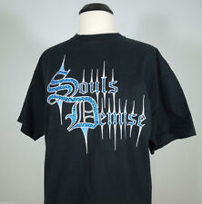SOULS DEMISE The Hours Arrived To Awaken The Beast Graphic Print T-Shirt size XL