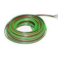 Ring 5m Kupferlitze 3 x 0,14mm² isoliert Kabel Roco rot/grün/schwarz 860298